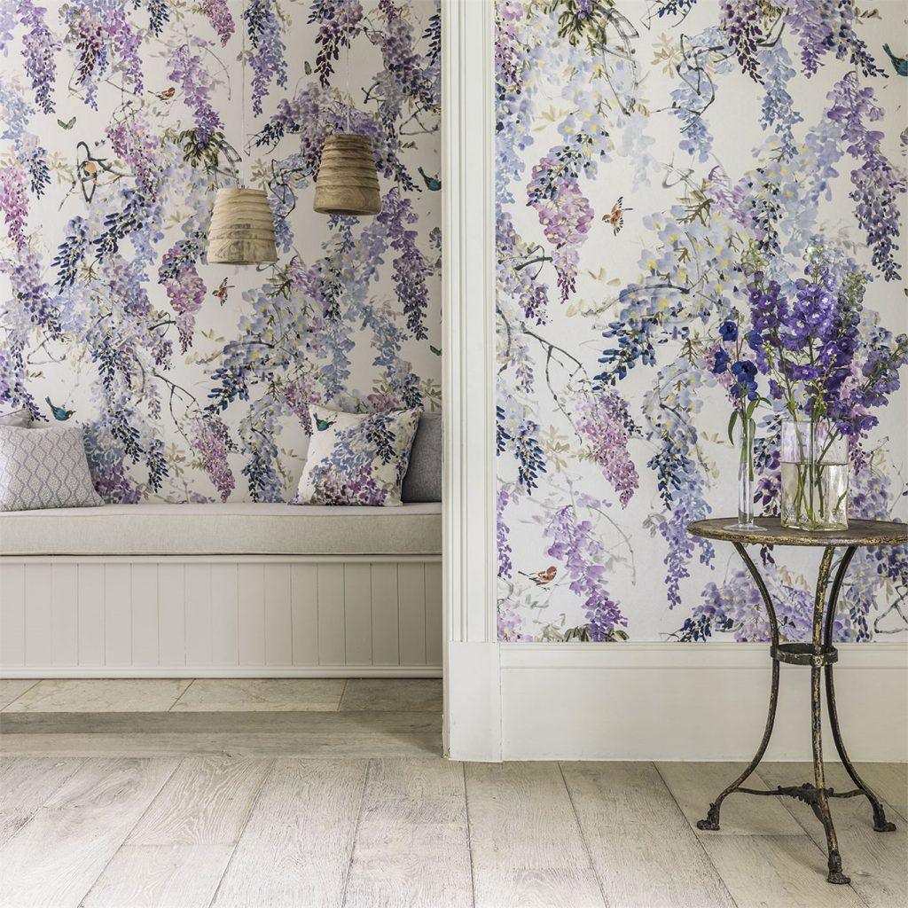 Wisteria Falls by Sanderson Fabrics