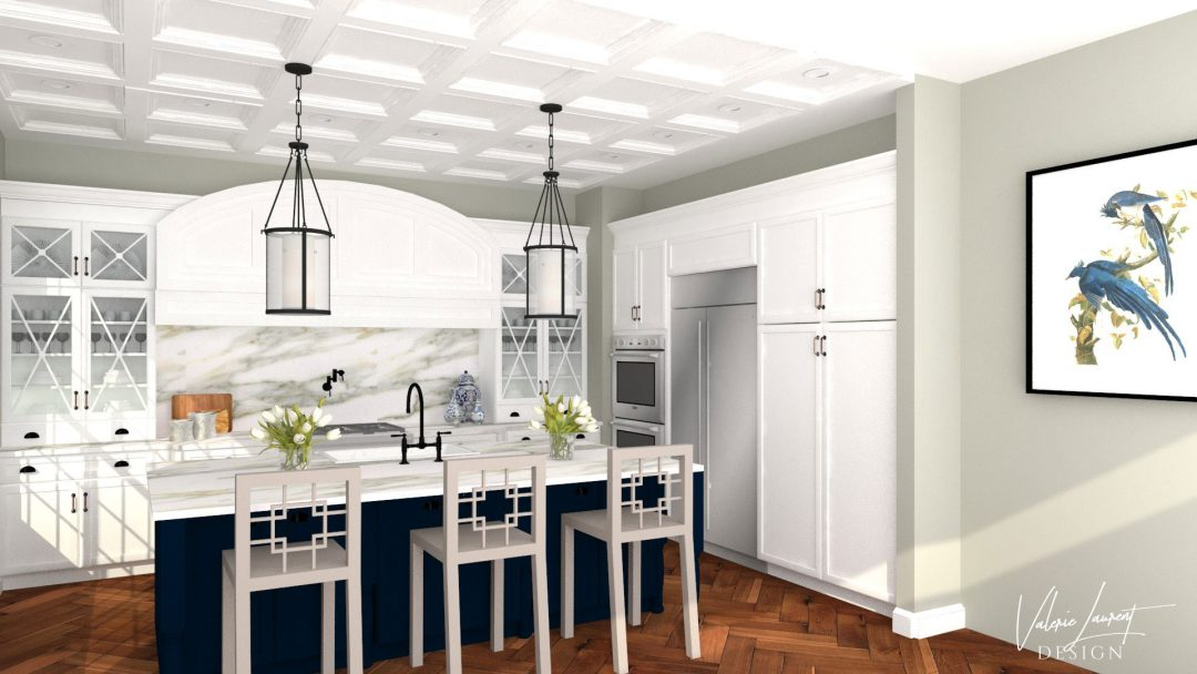 Transitional Kitchen by Valerie Laurent