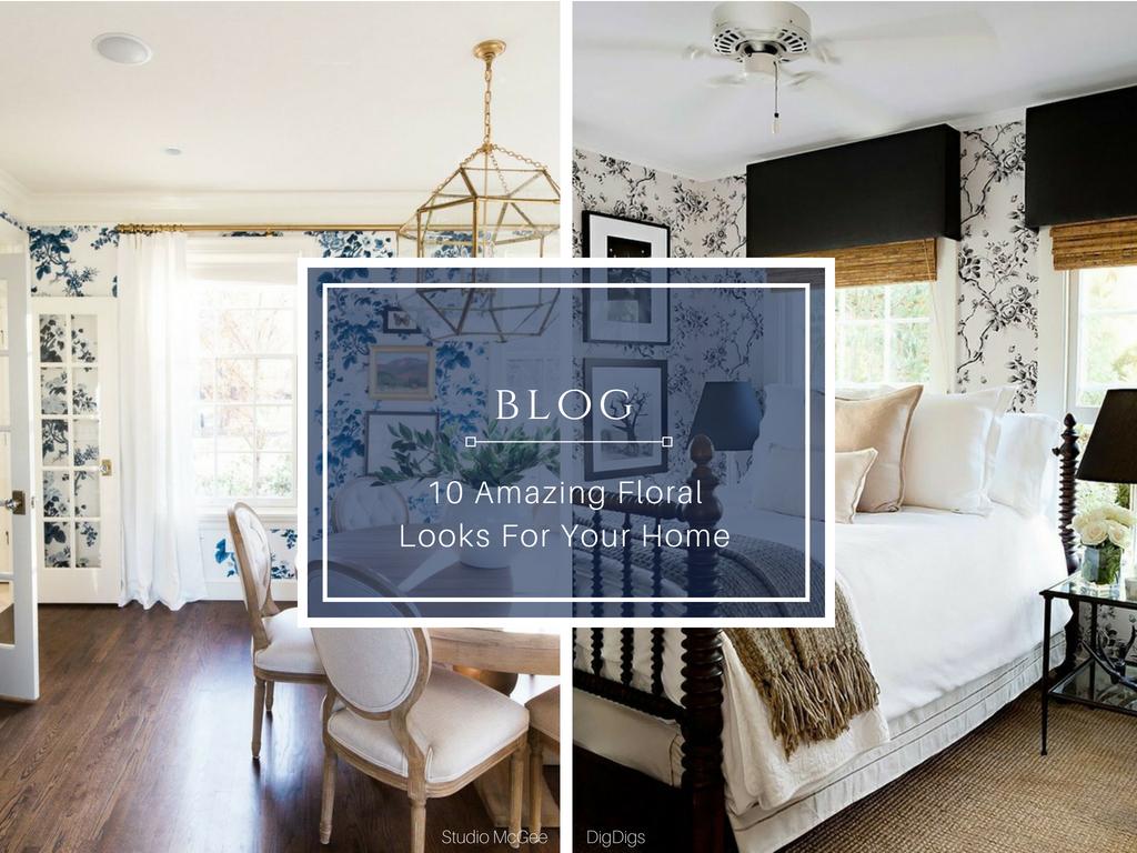 Blog flowers floral wallpaper fabrics best 10