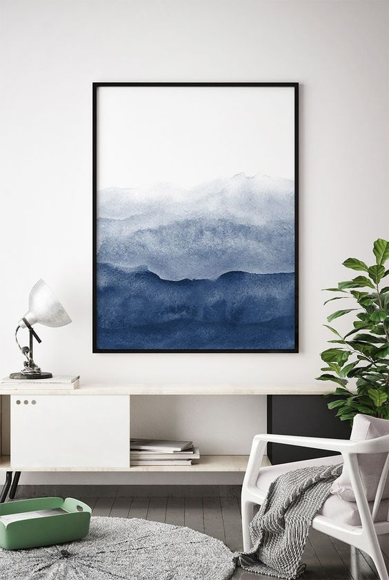 Art Etsy Indigo Navy SW6531 Sherwin Williams