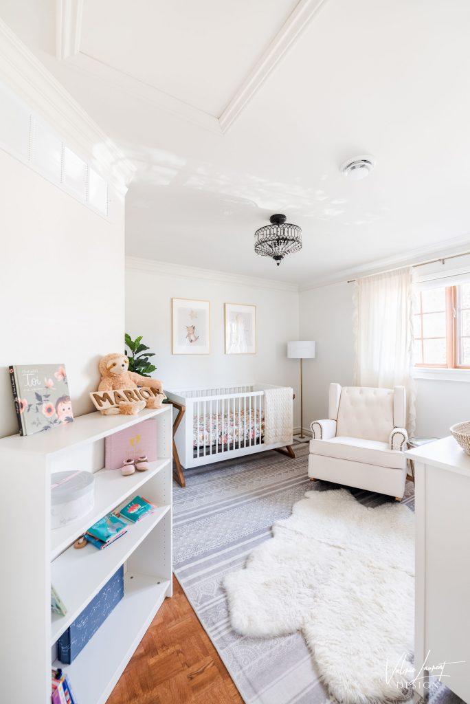 Valerie Laurent Design Nursery Classical baby girl
