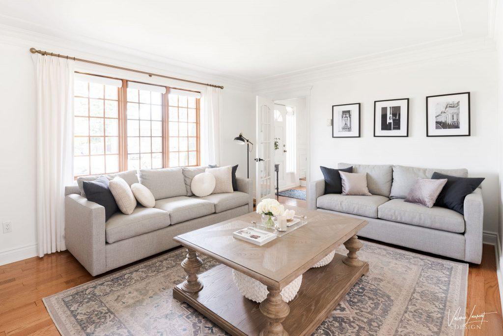 Valerie Laurent Design Living Room Classical Transitional