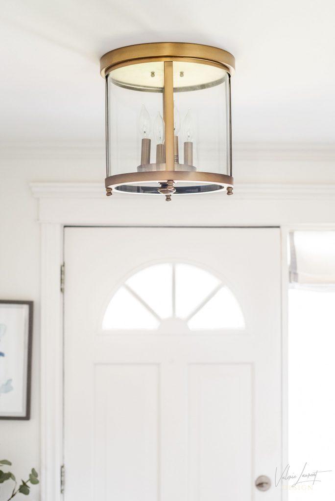 Valerie Laurent Design Entryway Vestibule Mouldings Classical